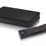 Iomega TV with Boxee - Box and Remote