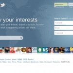 Twitter NewHome Page