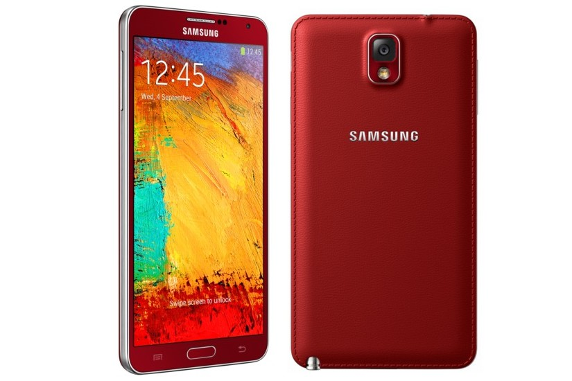 Galaxy Note 3 Red