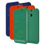 The all new htc one flip cover