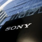 The company logo of Sony Corporation is seen at its headquarters in Tokyo