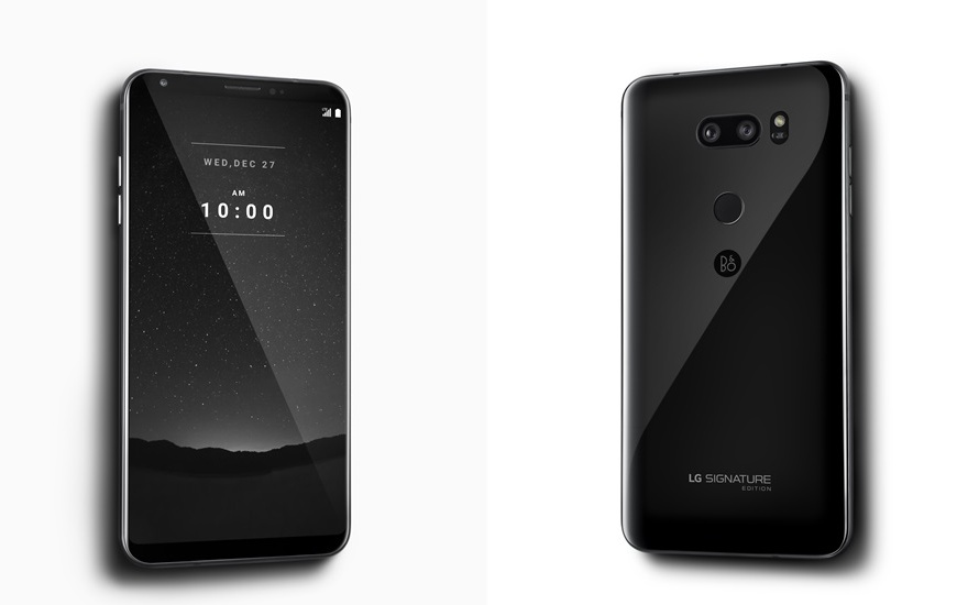 LG V30 Signature Edition in Korea