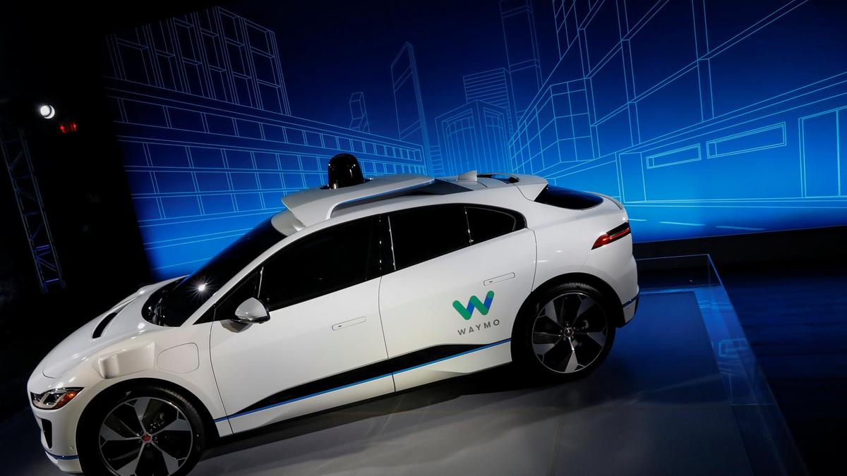 A-Jaguar-I-PACE-self-driving-car-is-pictured-during-its-unveiling-by-Waymo-in-the-Manhattan-borough-of-New-York