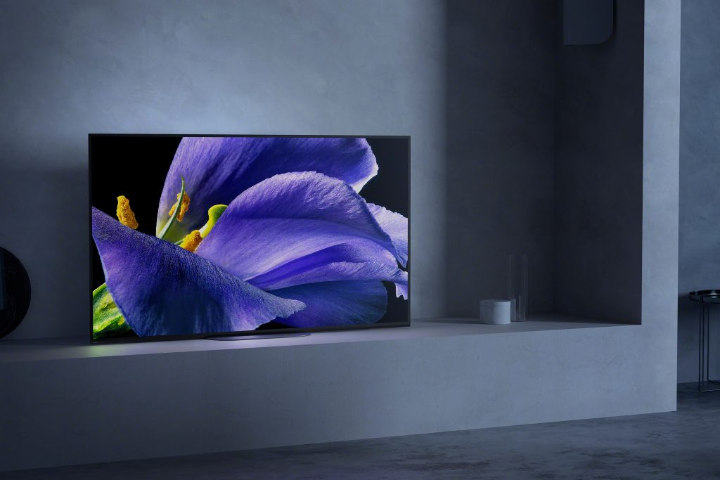 Sony-A9G-In-situ-wall-mount tv