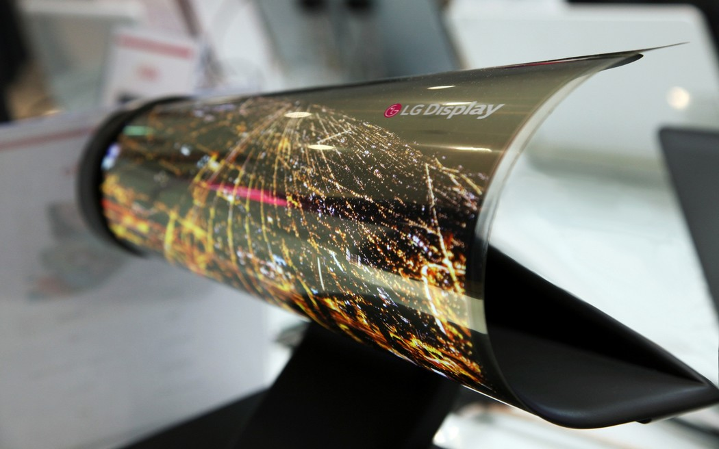 LG Display Rollable
