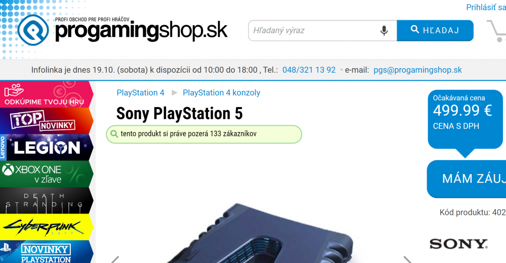 PlayStation 5 euro